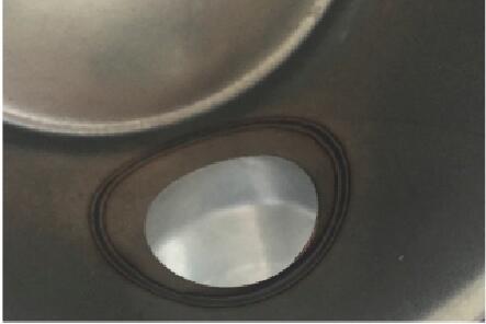 400W大功率激光焊接机样品